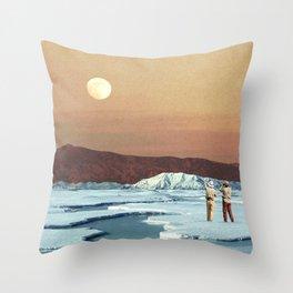 Environmental Differences Throw Pillow