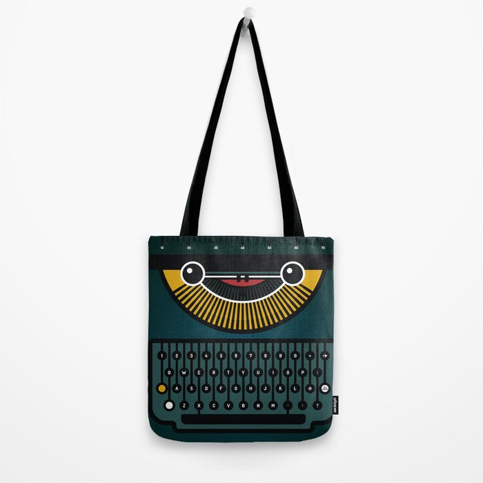 typewriter Tote Bag