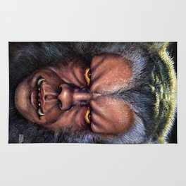 The Werewolf Curse Rug