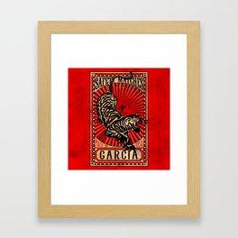 GARCIA SAFETY MATCHES Framed Art Print