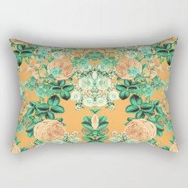 Orange Spring Set Rectangular Pillow