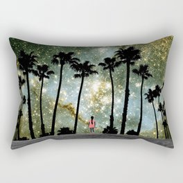 Paradise Galaxy Dream Rectangular Pillow