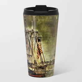 Tall ship USS Constitution Travel Mug