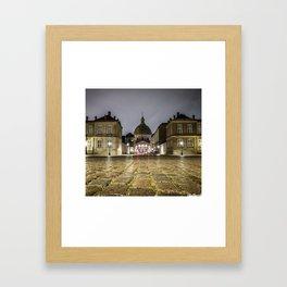 Low Angle shot Framed Art Print