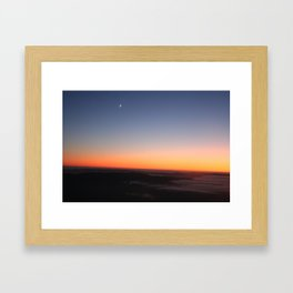 GRADATION Framed Art Print