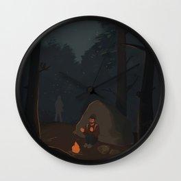 Fireflies (The Last of Us) Wall Clock