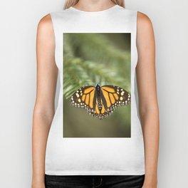 Monarch butterfly Biker Tank
