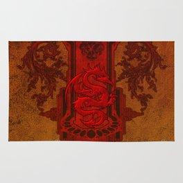 Chinese dragon Rug