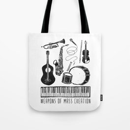 Weapons Of Mass Creation - Music Tote Bag