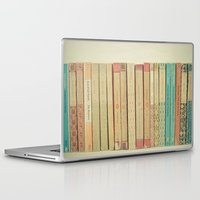 books Laptop & iPad Skins featuring Books by Cassia Beck