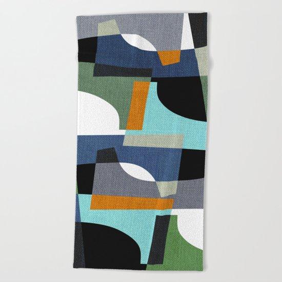 Fragments III Beach Towel