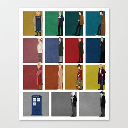 Doctor Who 2 Canvas Print