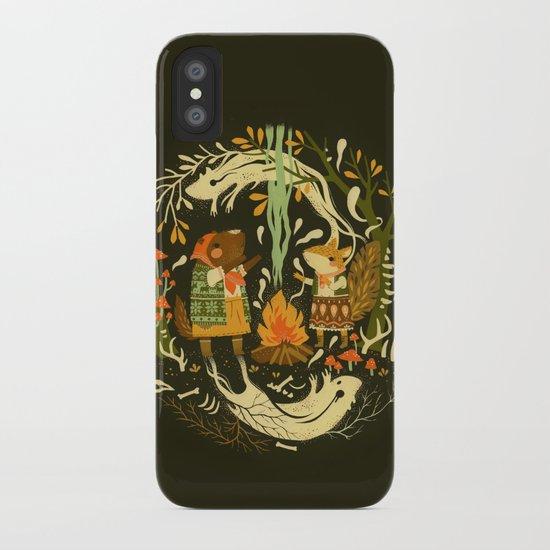 Animal Chants & Forest Whispers iPhone Case