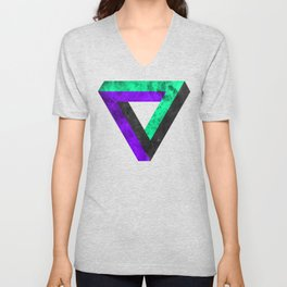 The infinity triangle inverted Unisex V-Neck