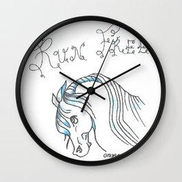 """""""Run Free"""" Wall Clock"""