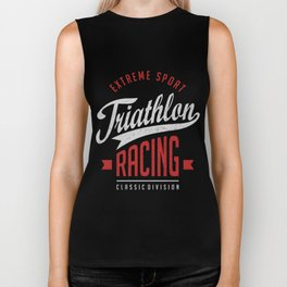 Triathlon Racing Extreme Sport Biker Tank
