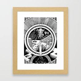 Macrocosmos Framed Art Print