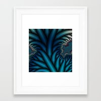 chakra Framed Art Prints featuring Soul Chakra by Christy Leigh