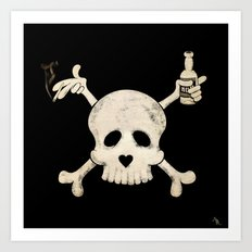 Cigarettes & Alcohol  Art Print
