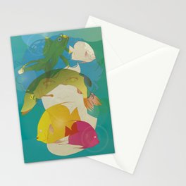 Go fish Stationery Cards