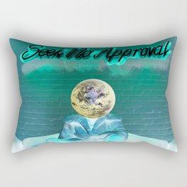 Seek No Approval Rectangular Pillow