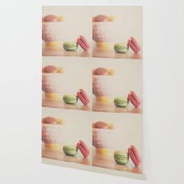 a macaron still life ... Wallpaper