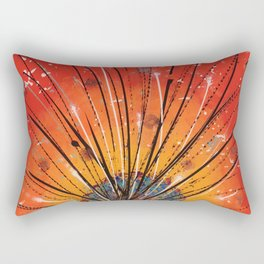 Sacred fire Rectangular Pillow