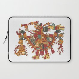 Aztec Inca God Graphic Laptop Sleeve