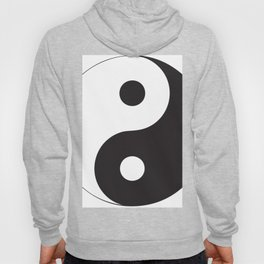 YIN YANG Abstract Art Hoody