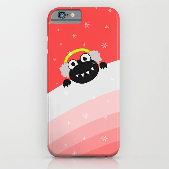 Cute Winter Bug With Earflaps iPhone & iPod Case