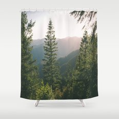 Forest XV Shower Curtain