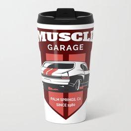 Muscle Car Garage Travel Mug