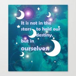 Night Stars - WS Canvas Print
