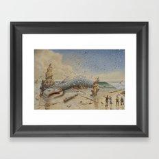 aprés la tempête Framed Art Print