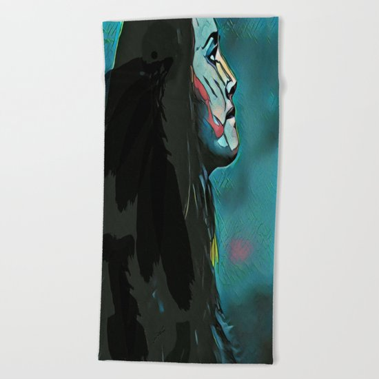 Branwen's Loss Beach Towel