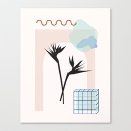 // Royal Gardens 01 Canvas Print