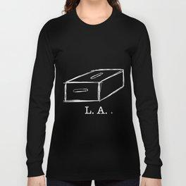 L.A. apple box (white) Long Sleeve T-shirt