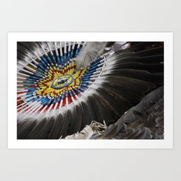 Head Dress Art Print