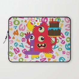 Birthday Monster 1st Birthday Laptop Sleeve