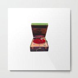 Grammophone Metal Print