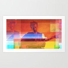 Bradford Cox | Project L0̷SS   Art Print