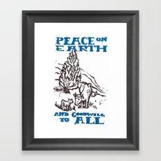 Peace on earth 2014 Framed Art Print
