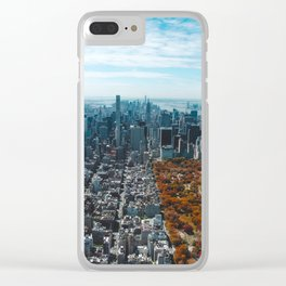 New York City Central Park Clear iPhone Case
