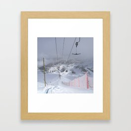 Empty T-lifts Framed Art Print