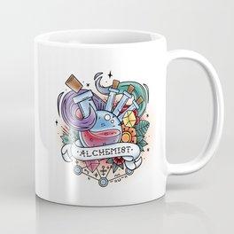 Alchemist - Vintage D&D Tattoo Coffee Mug