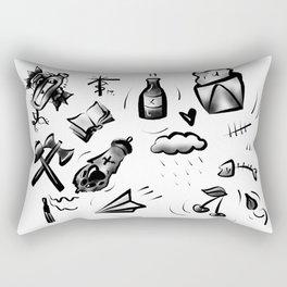 Lucky 13 Flash Sheet Rectangular Pillow