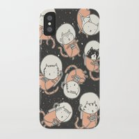 book iPhone & iPod Cases featuring Cat-Stronauts by Drew Brockington