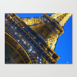 Eiffel Tower Sparkles Canvas Print