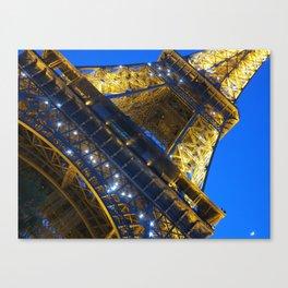 Eiffel Tower Sparkles Canvas Print