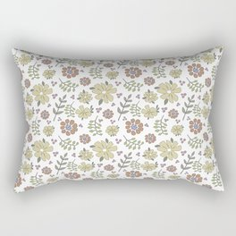 color me mellow Rectangular Pillow